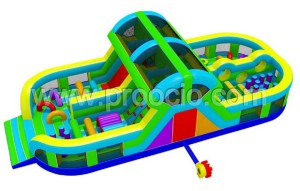 hinchable multiobstaculo proocio