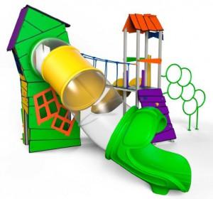 parque infantil casita randow proocio