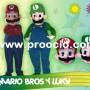 Disfraz Animado Mario